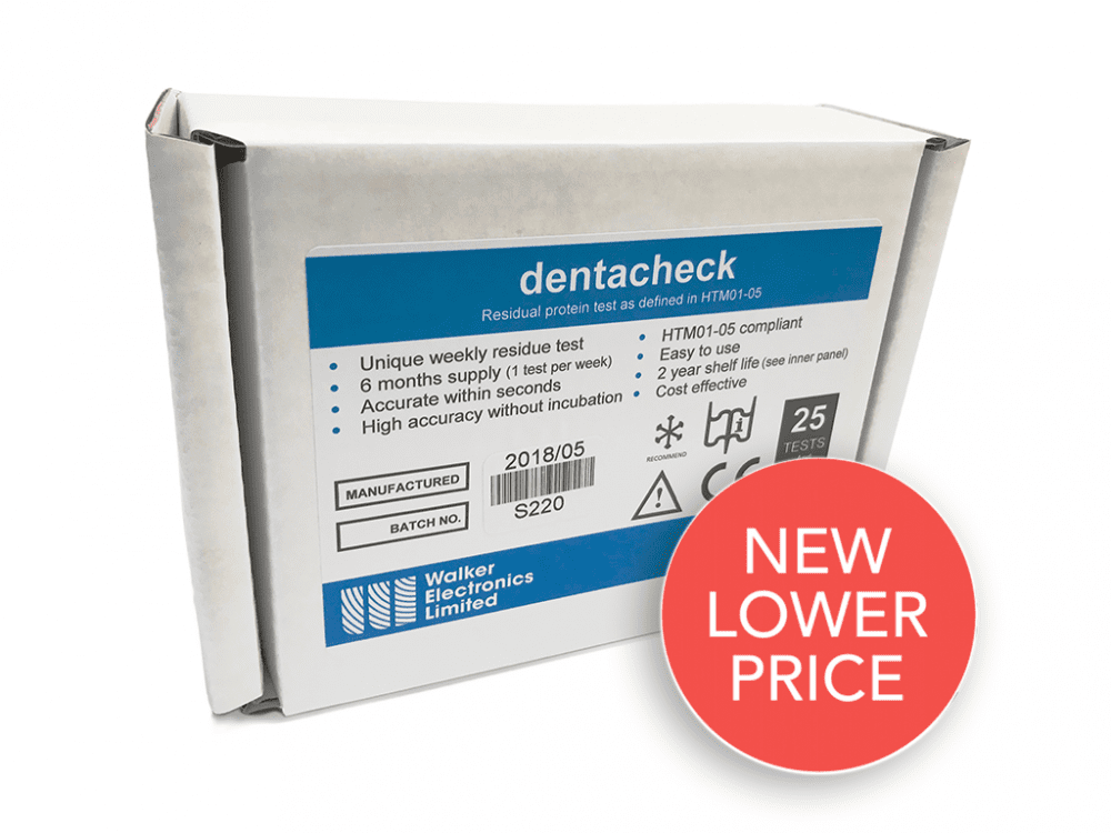 Dentacheck Protein Residue Tests