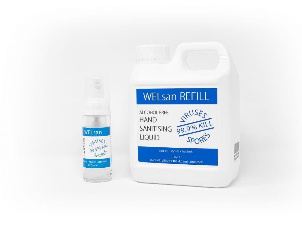 WELsan Hand Sanitiser Refill
