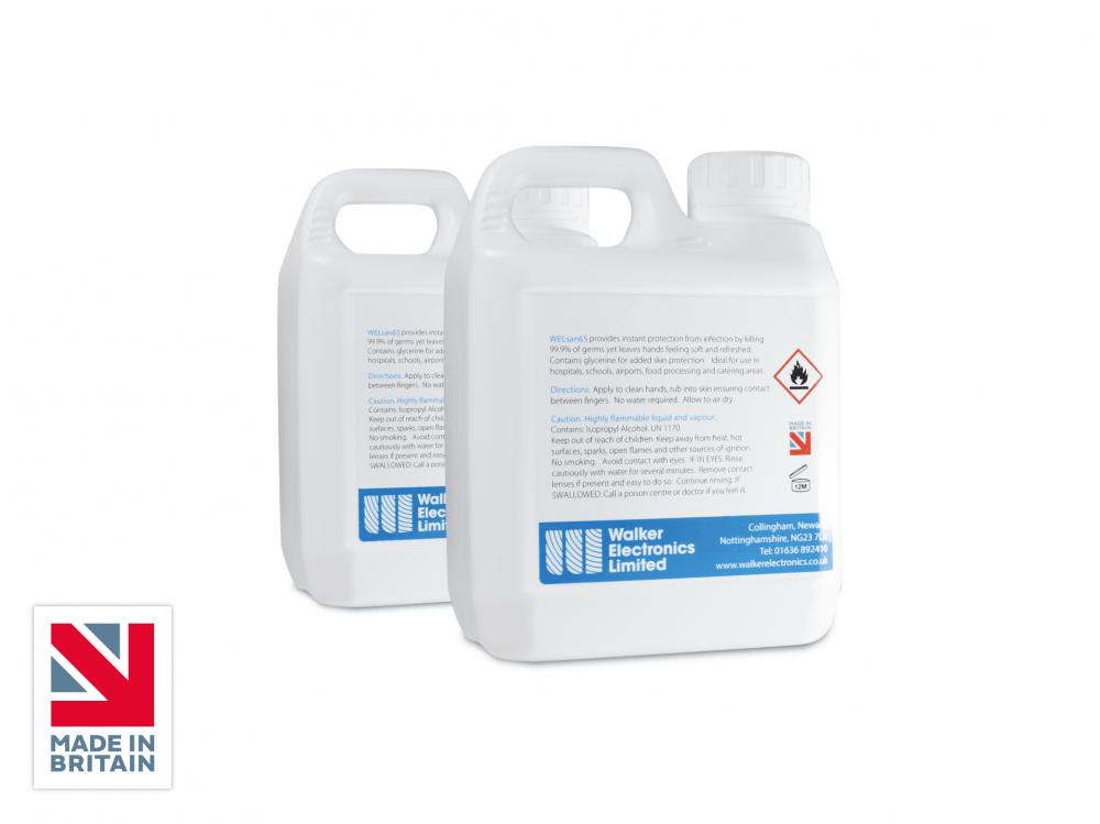 welSAN 65 Alcohol Hand Sanitiser Refill